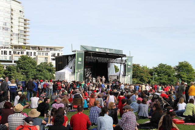 今週末はバンクーバーDavid Lam ParkでJazzを聞こう♪♪