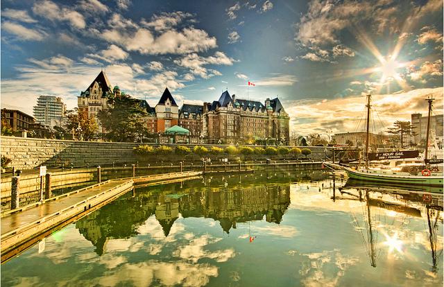 この夏必ず行きたい、BC州ビクトリアへの旅!!