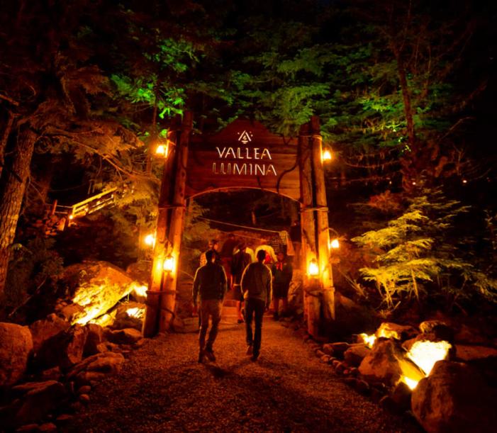 森の中の夢のような世界へ<br/>ウィスラーのVallea Lumina