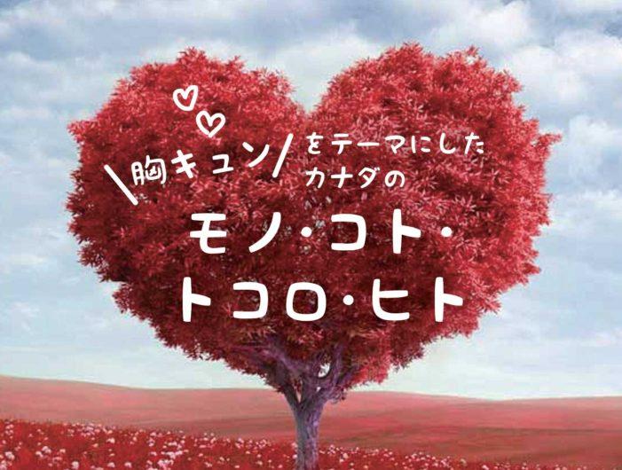 胸キュンをテーマにしたカナダのモノ・コト・ トコロ・ヒト|特集「恋とか。愛とか。」