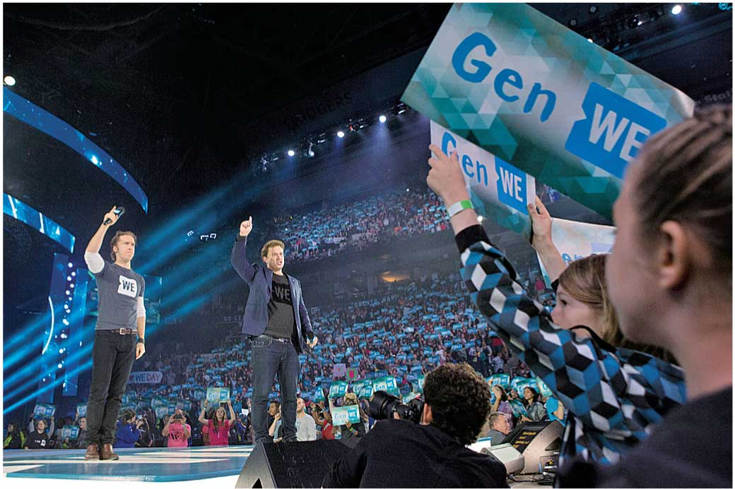 WE Dayを始めたキールバーグ兄弟 Photo by Chris Young for WE Day