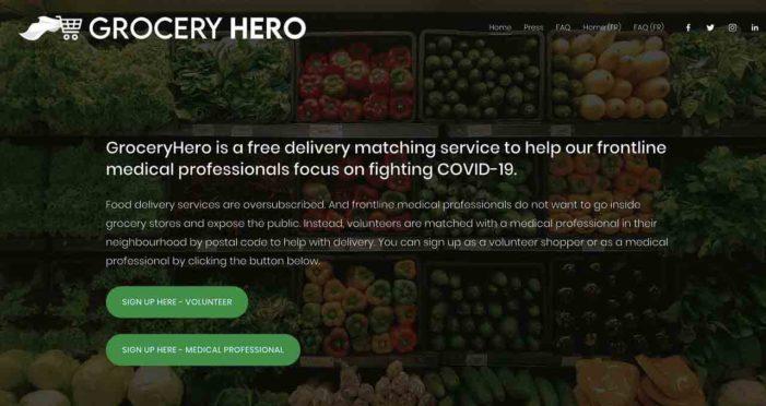 【スペシャルインタビュー】食料の買い出しに行けない医療従事者と周辺に住むボランティアをマッチングして食料を配達するサービス「Grocery Hero」|コロナ禍で医療従事者を支えた感動ストーリー