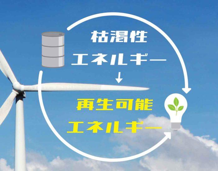 枯渇性エネルギー → 再生可能エネルギー|特集「キラリと光る北米デジタルトランスフォーメーション」