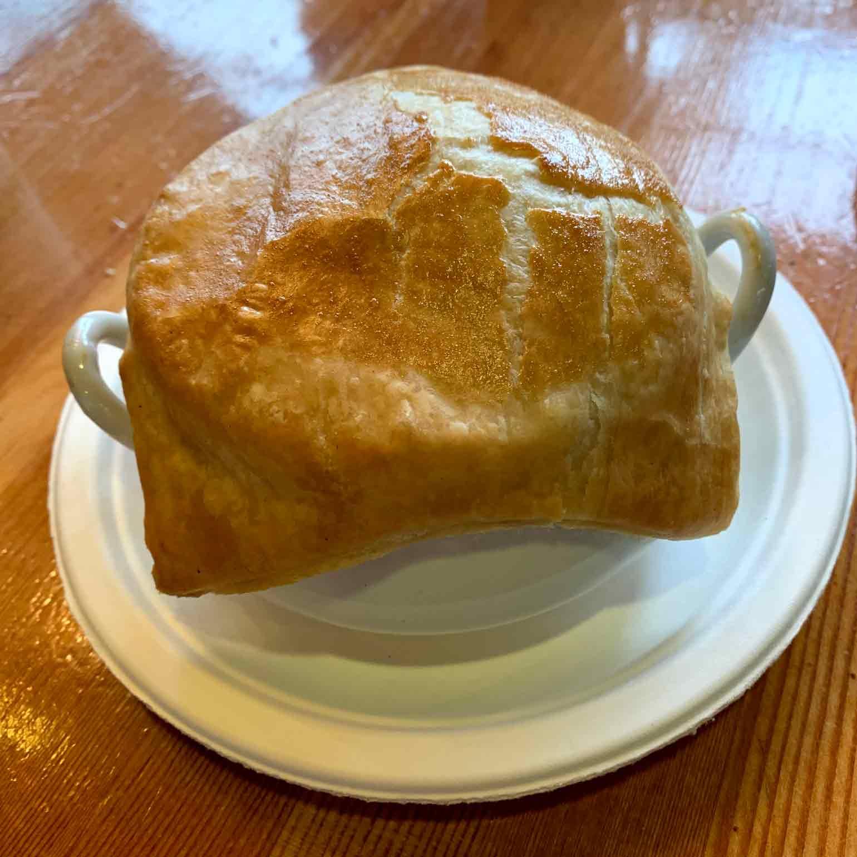 サクサクの生地のパイ