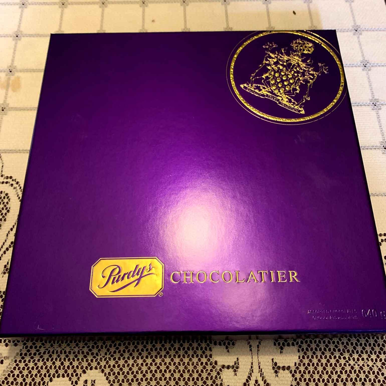 有名な紫のパッケージ
