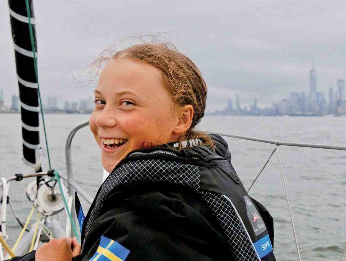 TOPStory-TORJAが選んだ新世代のリーダー 17歳の環境活動家グレタ・トゥンベリさん