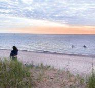 太陽がいっぱいヒューロン湖(1)キンカーディン(Kincardine) 紀行家 石原牧子の思い切って『旅』第55回