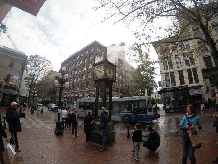 蒸気時計の音色とガスタウンの歴史 in バンクーバー