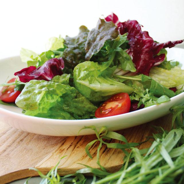 春を感じる爽やかさハーブの香るサラダ|うんちく好きシェフのかんたんレシピ