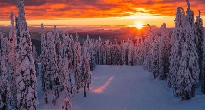冬のケロウナで楽しめるウィンターアクティビティー8選!