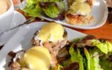 Shipbuilders Eggs Benedict with Maple Bacon and Caramelized Onion (奥),Shipbuilders Eggs Benedict with Mushroom